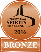 International Spirits Challenge 2016 (Bronze)