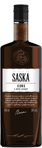 SASKA Kawa z Nutą Brandy (Coffee with a hint of brandy)