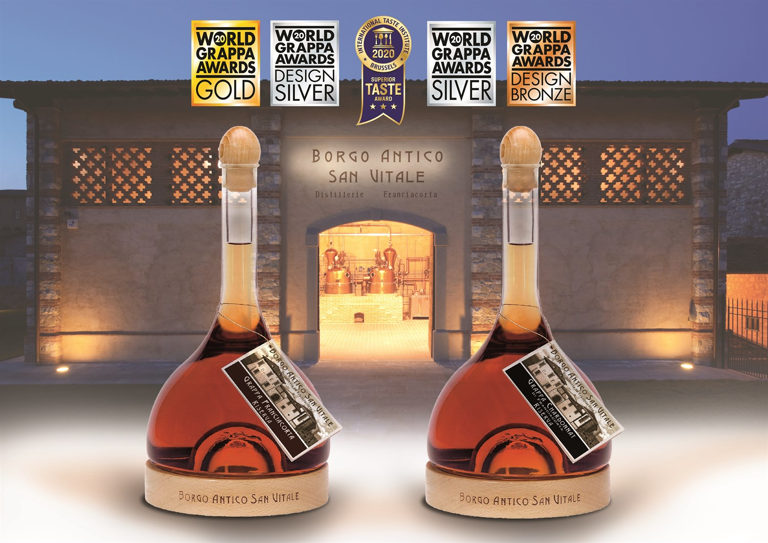 Awards success for Grappa Ampolle